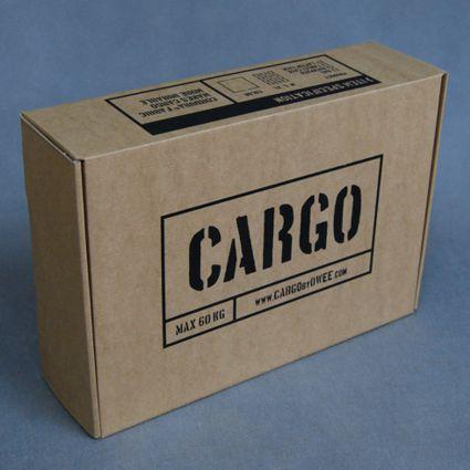 Pudełka tekturowe dla CARGO by OWEE