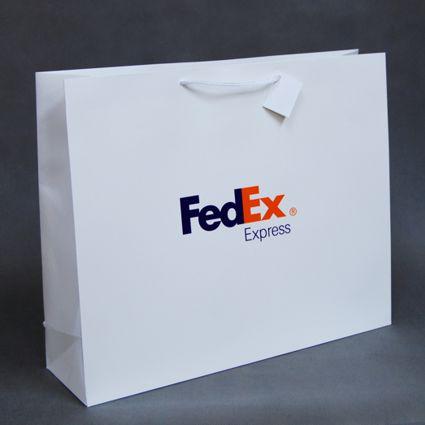 Torby papierowe drukowane dla FedEx