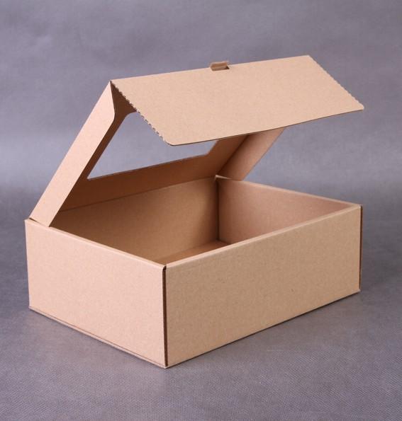 Pudełko jednoczęściowe z tektury - 4 ścianki podwójne