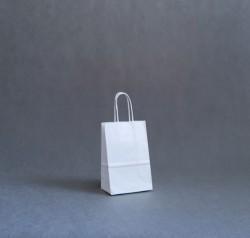 d21a23ffcebda Torba papierowa - biała gładka 14x8